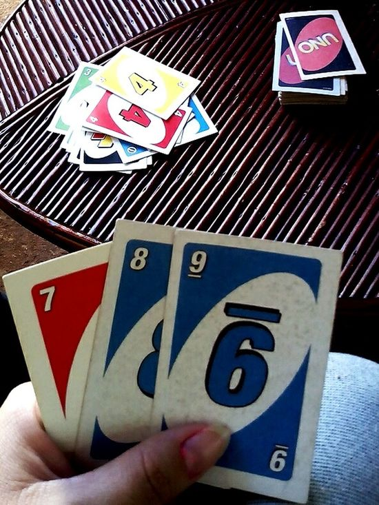 UNO Game Uno ❤ UNO Unocards