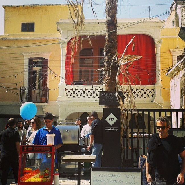 TBT  to last sunday car free day Marmikhael Achrafieh Achrafieh2020 discover armeniastreet lebanon beirut heritage colors architecture throwbackthirsday