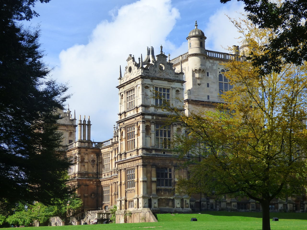 Architecture Country House Historic Architecture History Nottingham Tourism Wayne Manor Wollaton Hall