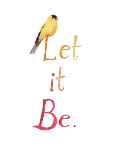 Let It Be. Bird