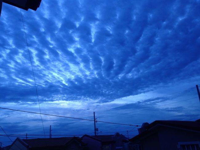 The Purist (no Edit, No Filter) Blue Sky Sky Clouds And Sky