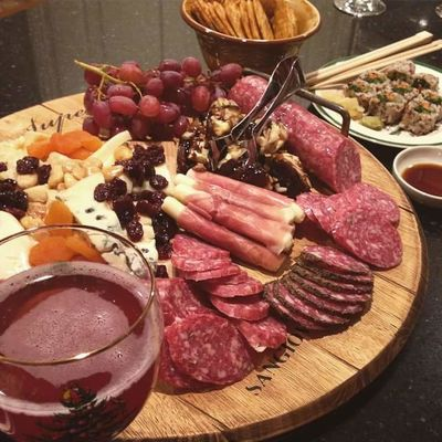 Christmas Appetizer Beef Charcuterie Cheese Close-up Day Drink Drinking Glass Food Food And Drink Freshness Healthy Eating Indoors  Italian Food Meat No People Plate Ready-to-eat Serving Size SLICE Table