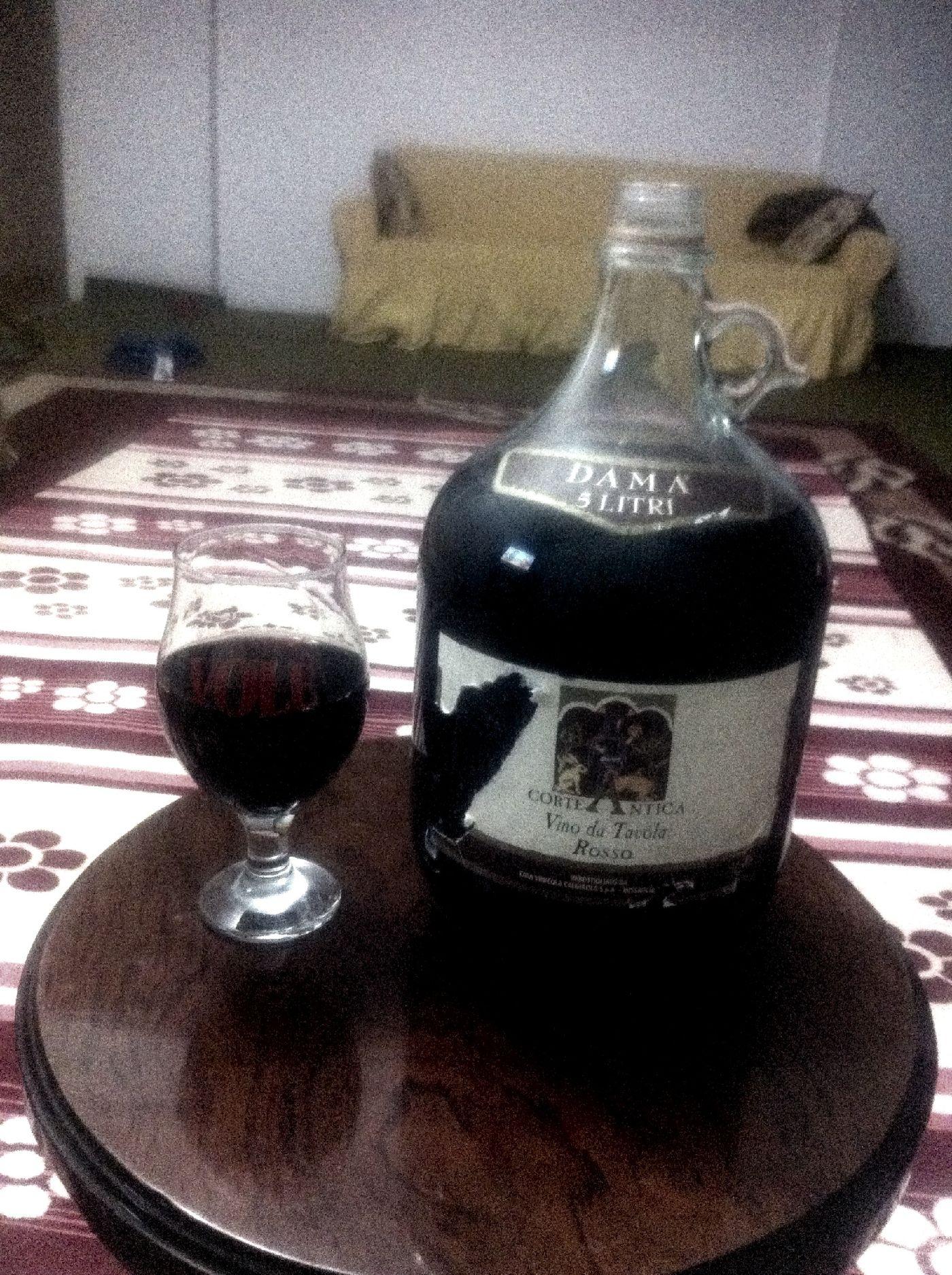 şarap at Lost'a şarap