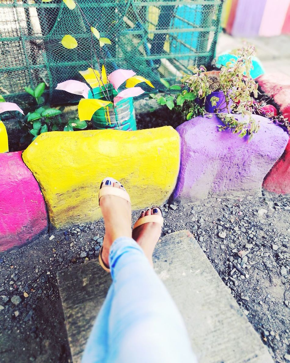 It's not about your feet, it is about the steps you need to make in order to color and recycle your world. Steps Life Is Beautiful Life In Colors Forwardthinking Stand Up