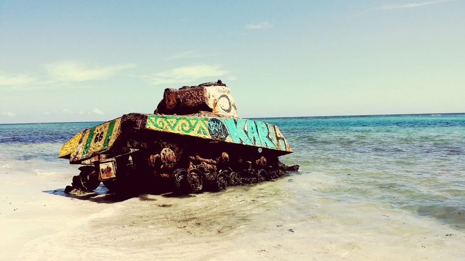 Tank Isla Culebra