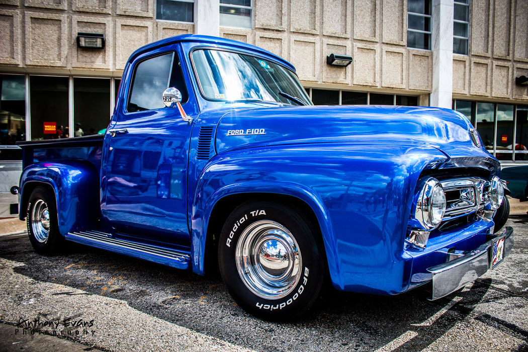 1956 Ford F100 1956 Blue Classic Classic Car Classic Car Photography Classic Car Show Collector's Car First Eyeem Photo Ford F100 Ford F100 Pickup Truck Ford Truck Old-fashioned Retro Styled Transportation Vintage Vintage Cars