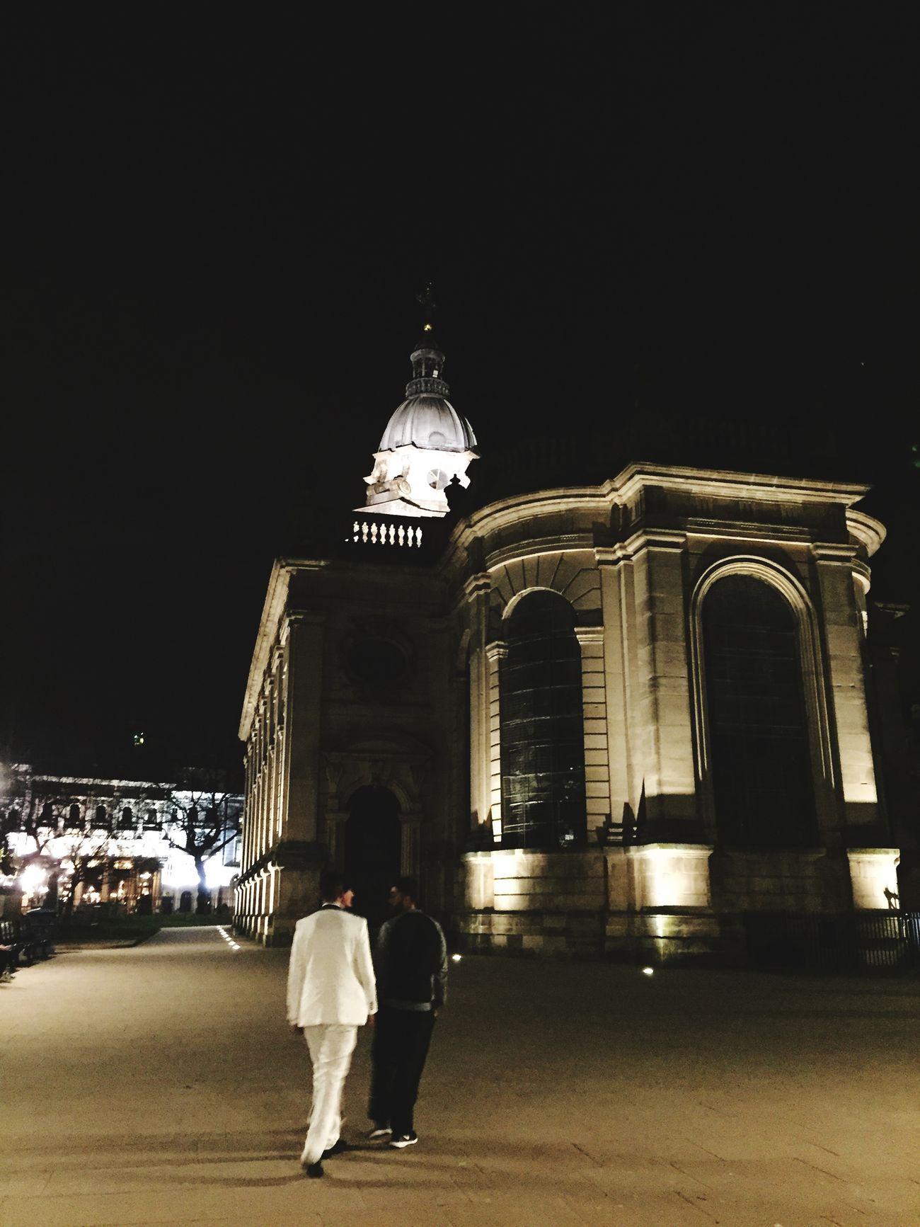 Birmingham nighttime