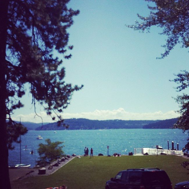 Not a bad day for Artonthegreen by the Lake Cda