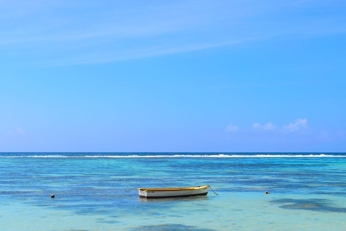 Great blue outdoors Beach Beauty In Nature Blue Horizon Over Water Idyllic Mahé Nature No People Outdoors Scenics Sea Seychelles Sky Tranquil Scene Tranquility Water First Eyeem Photo