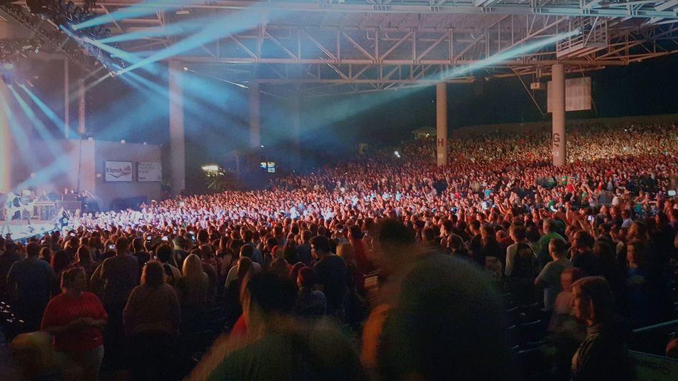 Blink182 Illuminated Crowd Large Group Of People Arts Culture And Entertainment Person Enjoyment Night Performance Celebration Togetherness Event Fun Nightlife Lighting Equipment Music Light - Natural Phenomenon Stadium Spectator Men Lifestyles