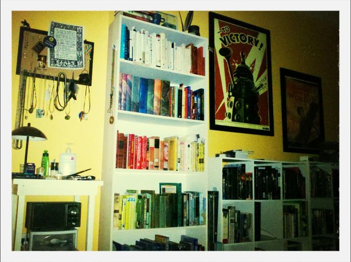 I am going to try to document my year in pictures. This is what I saw all day. my room. :(