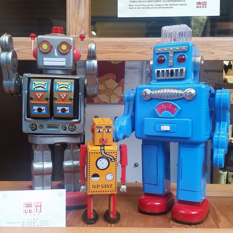 Robots Toys Toysphotography Collection Old-fashioned Man Made Object Toysnapshot Robots!!!
