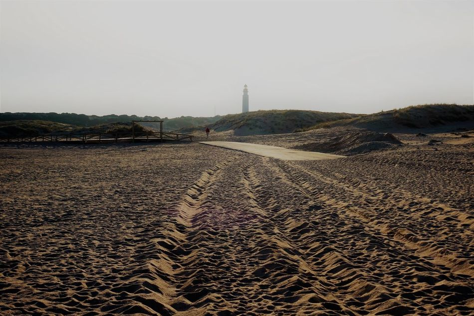 Trafalgar Adapted To The City Blocked Street Buried In Sand Day No People Outdoors Sand Sky