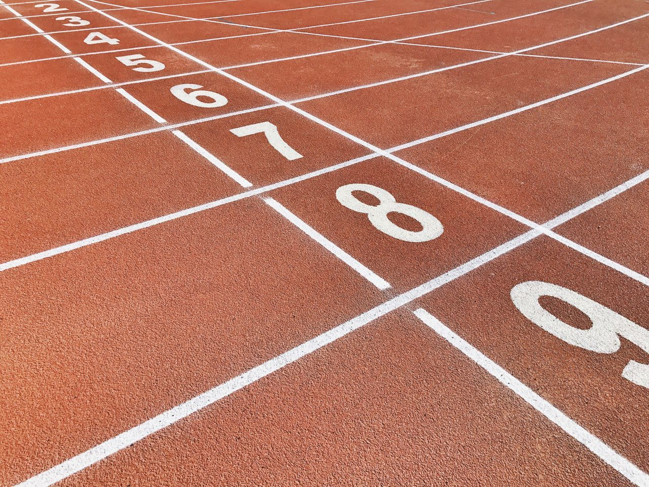 Number Running Track Track And Field Competition Sports Track Sports Race Starting Line Sport International Multi-sport Event No People Competitive Sport Track Event Close-up Track And Field Athlete Beginnings Finish Line  Outdoors Day Sprinting