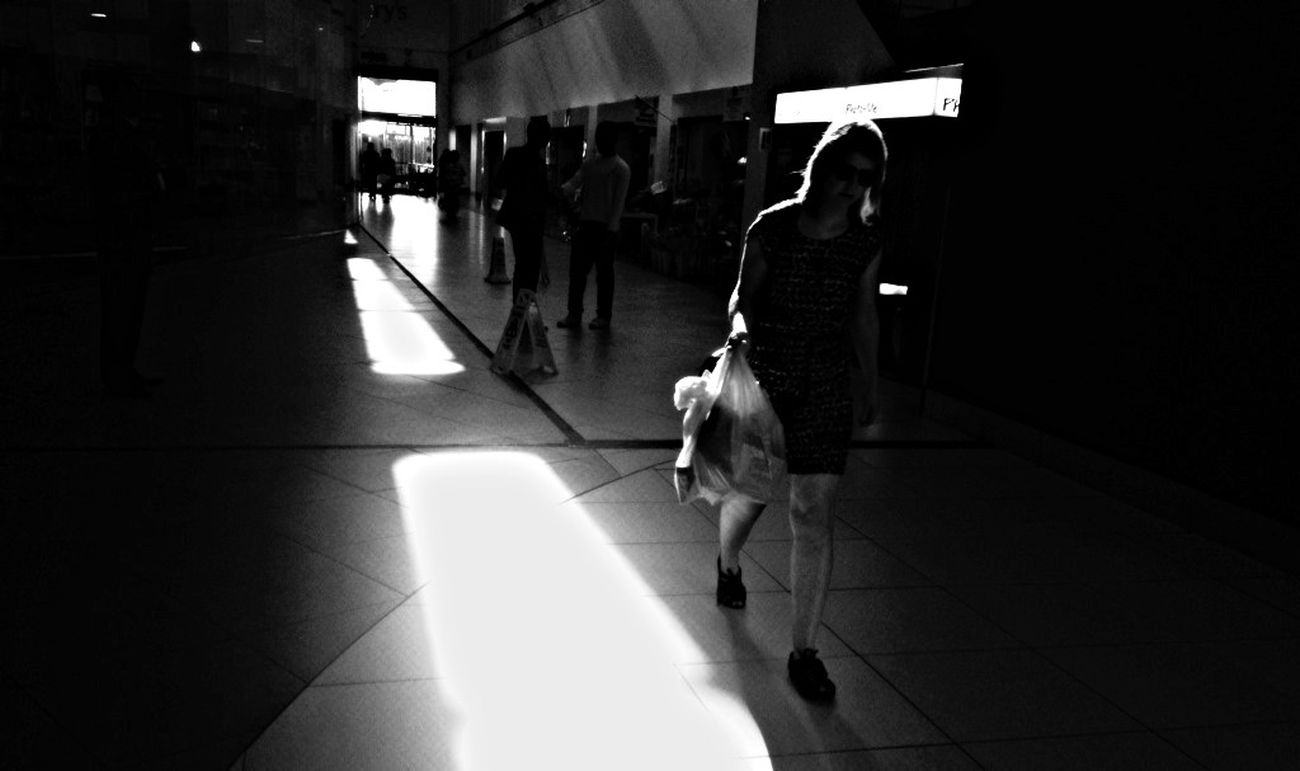 Light And Shadow Black & White