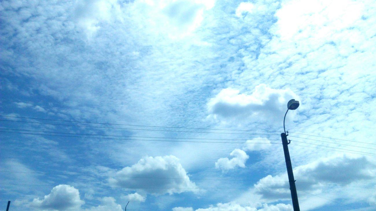Sky boundless mystery... Sky And Clouds Summer2015 Beautiful Sky Blue Sky Ukraine Bila Tserkva Mystery