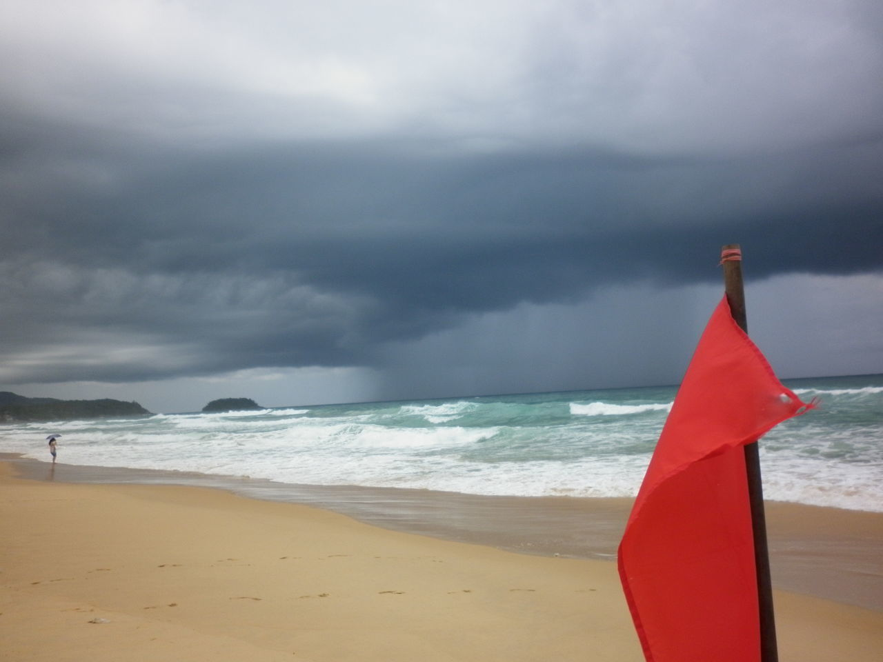 Beautiful stock photos of storm, Beach, Cloud, Communication, Danger