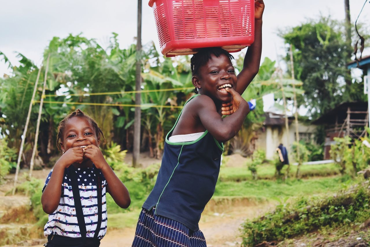Sisters Sierra Leone africa is not a country. Travel Photography