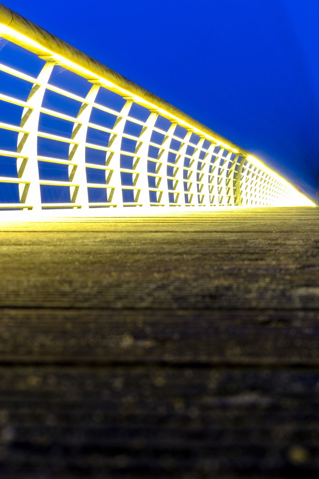 Seebrücke Niendorf Architecture Blue Close-up Day Fresh On Eyeem  FUJIFILM X-T2 Illuminated Lights And Shadows Niendorf Night Lights Nightphotography No People No People, Outdoors Pattern Planking Seebrücke Sky Text White Color Wood
