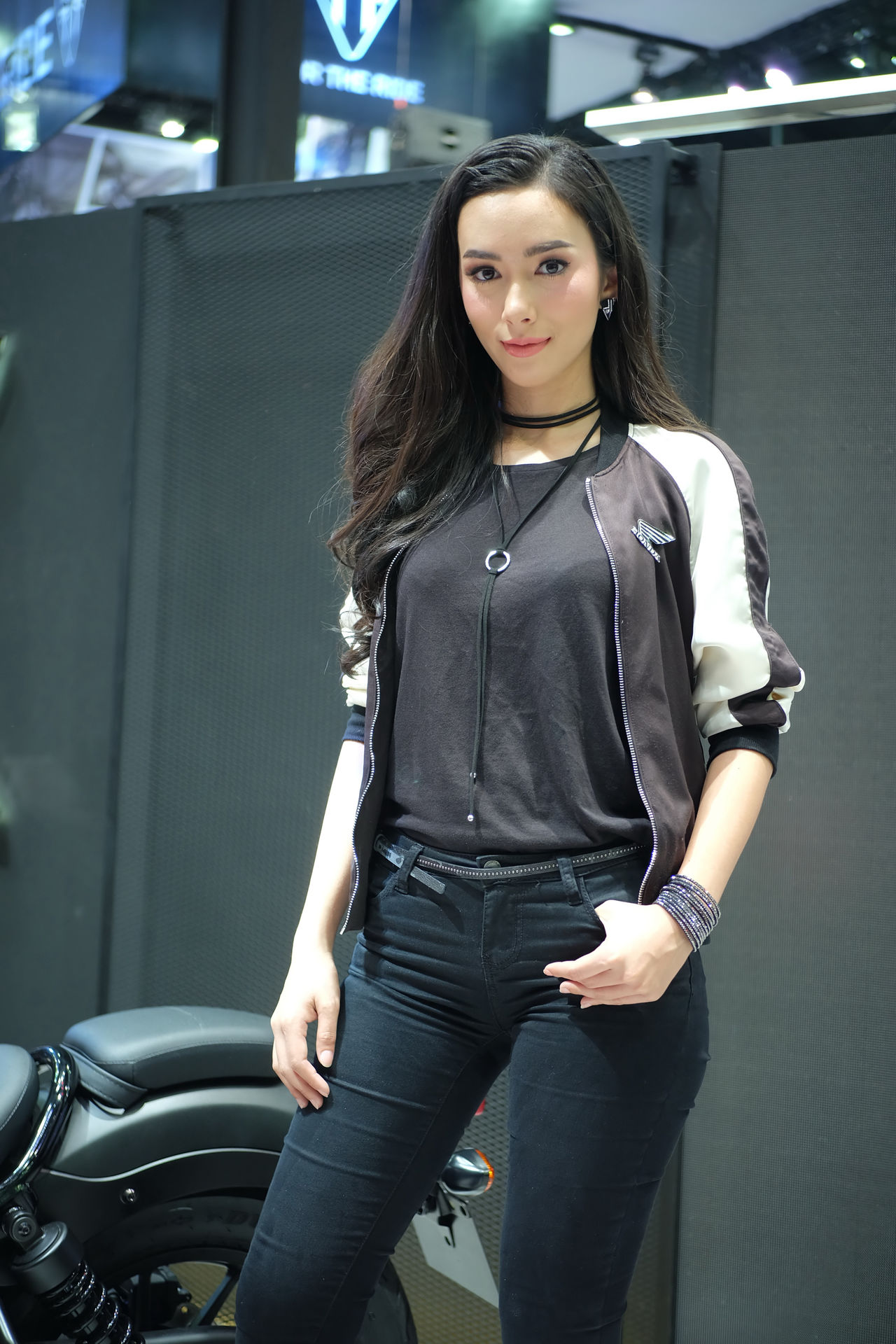 pretty motorcycle in Thailand motor expo 2016 Car Show Event Exibition Exibition Hall Girl Hall Model Motor Motor Expo Motor Expo 2016 Motorcycle Motorcycles Present Pretty Pretty Girl Pretty Girls Pretty Model Thailand Motor Expo 2016