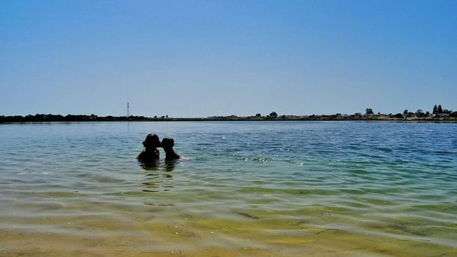 Love Kiss Family Motherandson  Kid Babygirl Beach Nature_collection Nature Blue Sea And Sky Seablue Beachphotography Algarve, Portugal Summer Landscape Landscape_Collection Enjoying Life Enjoying The View Enjoying The Sun Enjoying Nature Relaxing Capture The Moment