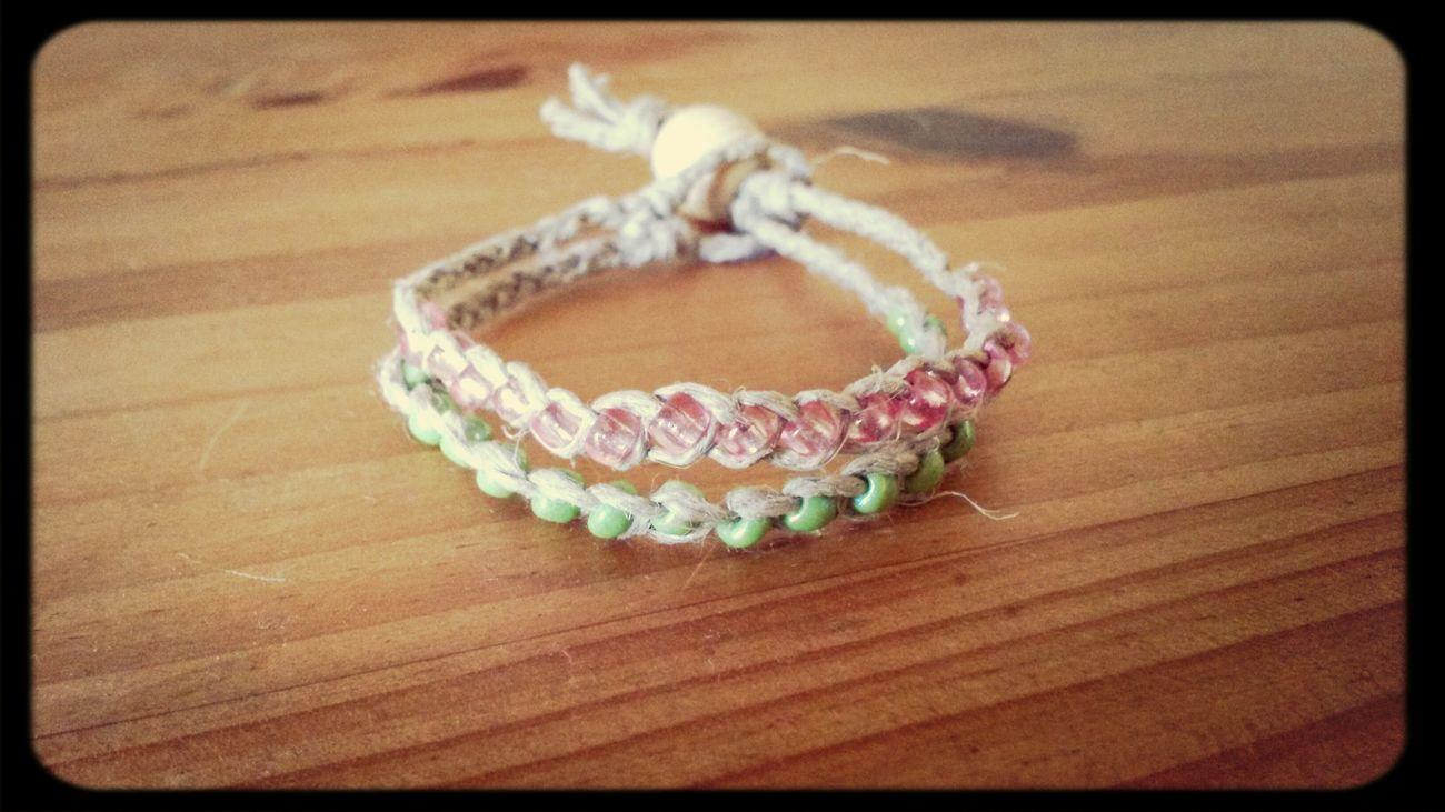 Dernière création... wish bracelet... fzites un voeux !!! Creation Wish Bracelet Creeadom Nouveau
