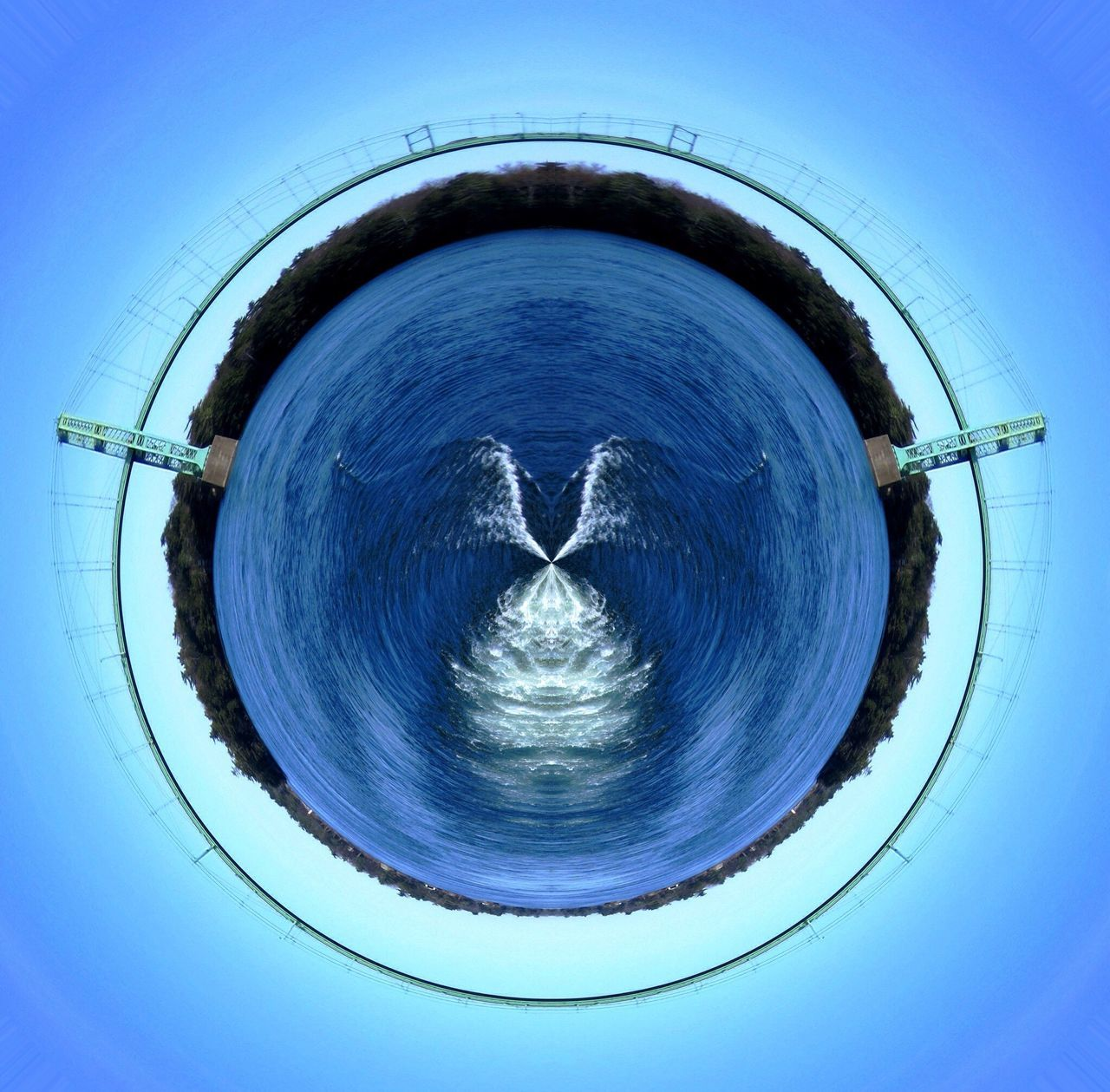 Mille-îles Fleuve Saint-Laurent Archipel Beautiful Beautiful Nature Tiny Planet Bridge Beautiful Day Beautiful Place