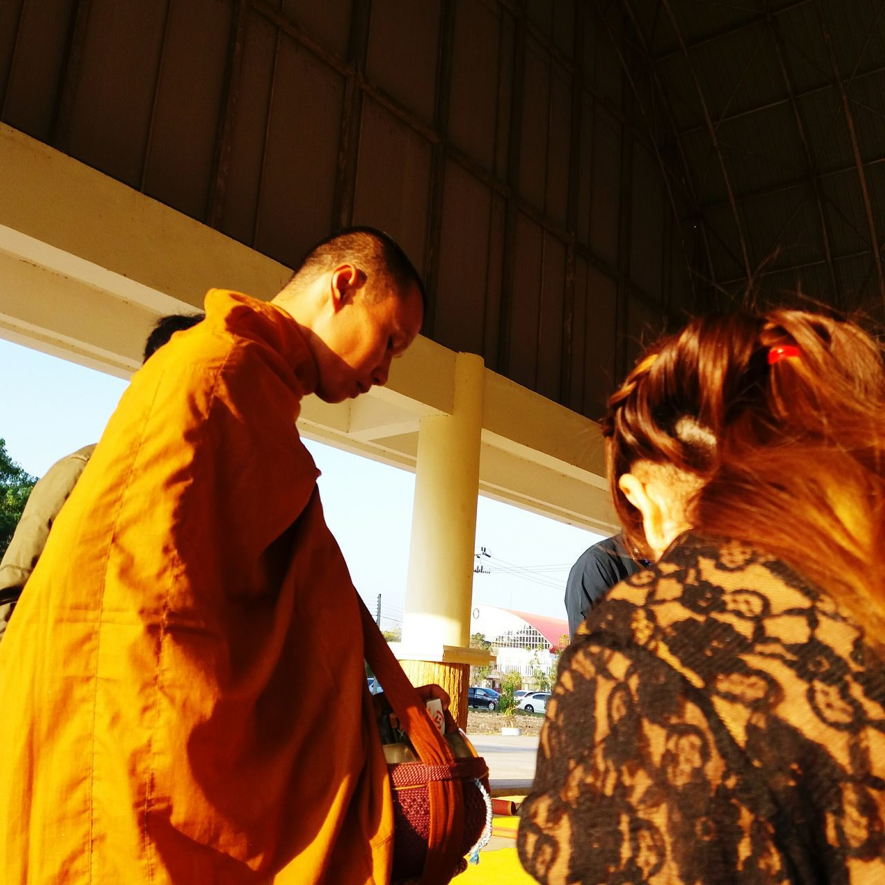 Monk  Buddism Monk Buddism Ceremony New Yesrs  People