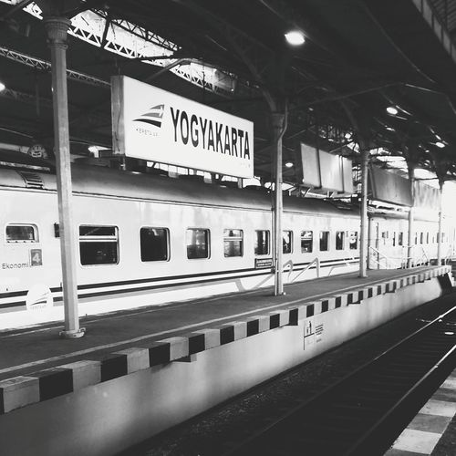 Let's go home! Traveling Home For The Holidays Transportation Railroad Station Train - Vehicle INDONESIA No People Blackandwhite at Stasiuntugu Yogyakarta Traveling Home For The Holidays
