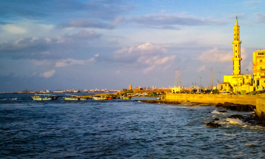 Elmax seafront Outdoors Sea No People Nautical Vessel Offshore Platform Water Sky Day Miles Away Eyeem Photography On Eyeem Fresh On Eyeem  Travel Destinations Alexandria Egypt Fishermen Fishing Boat Fishing Village Fishing Boats Fishing Port Miles Away