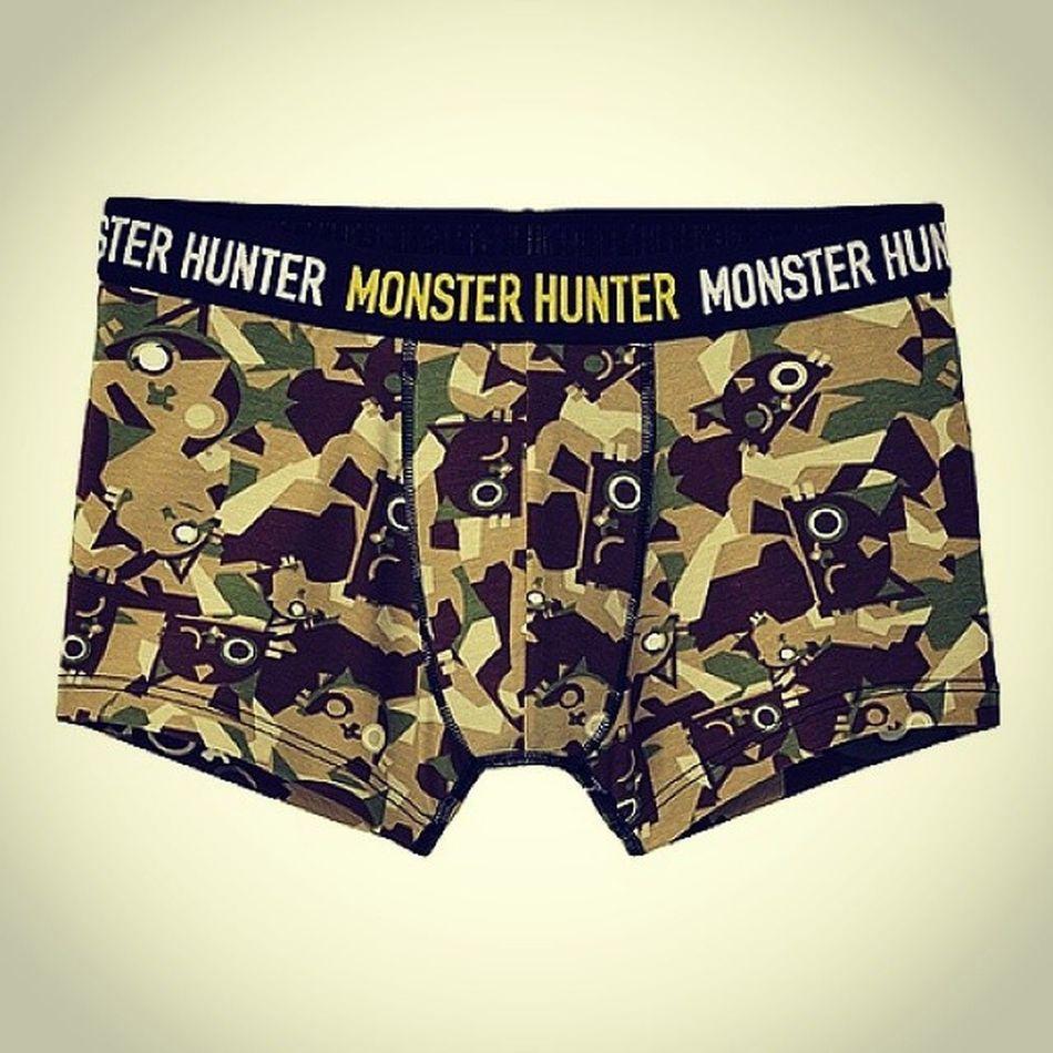 kewl Instaboxershorts Monsterhunter Uniqlo Monsterhunter4ultimate