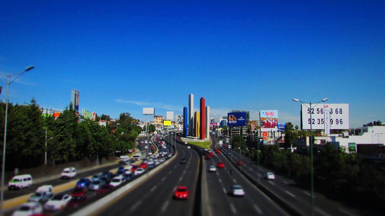 Embrace Urban Life Mexicocity  Satelite Canon Miniature