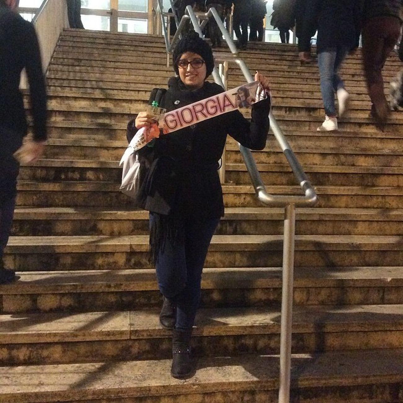 l'influenza non mi ferma!!!! Giorgia Giorgiagram Giorgiatodrani Concerto roma palalottomatica tour senzapaura senzapauratour 🎤🎶🎵