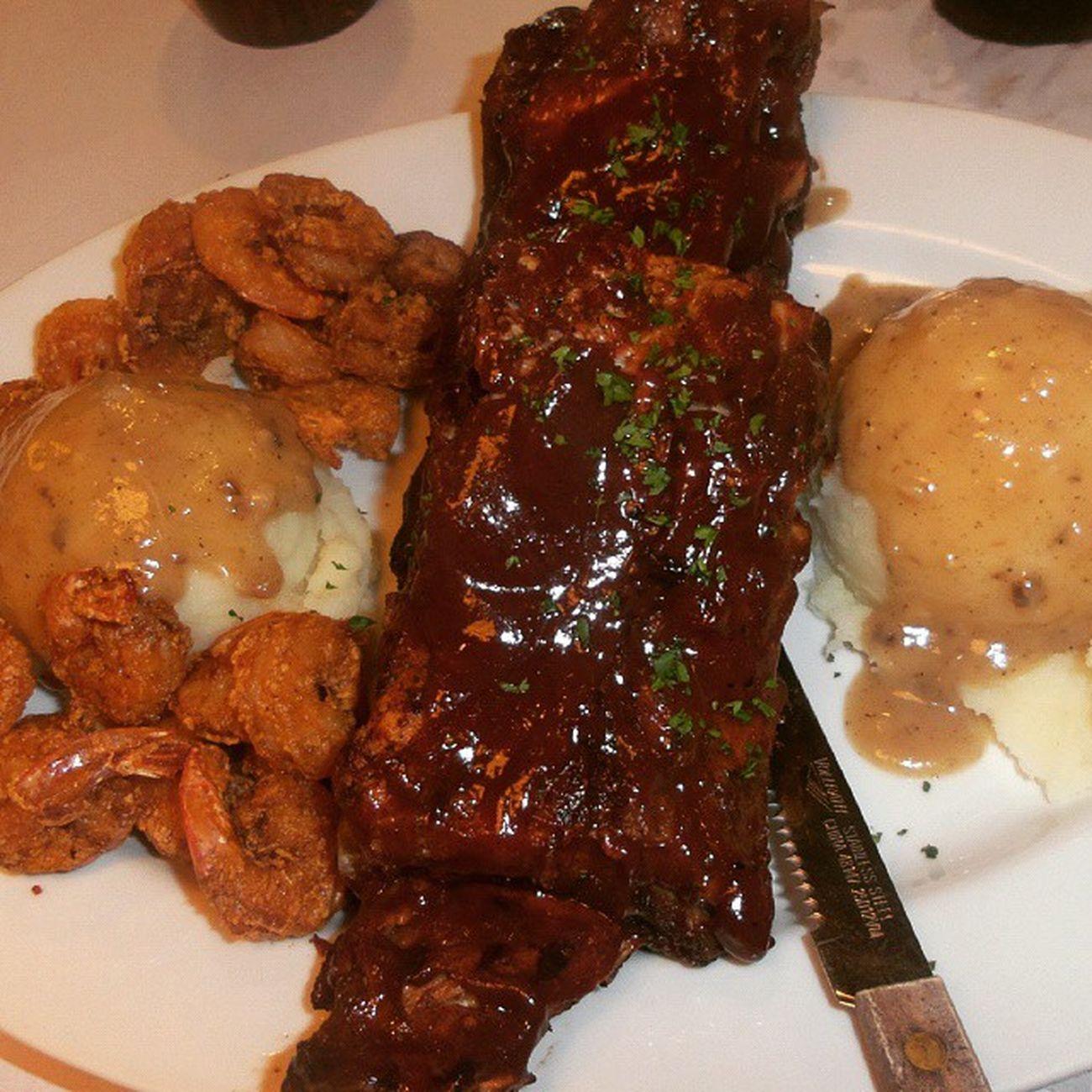 rib and shrimp Burgoo