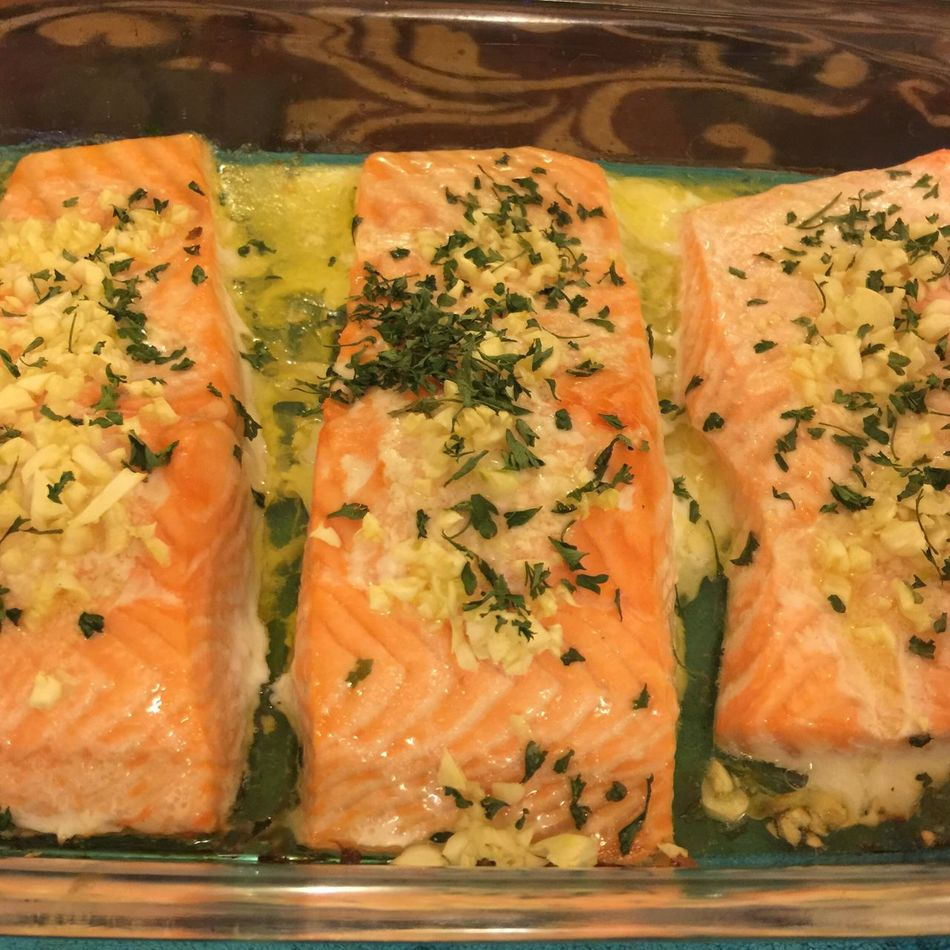Salmon Dinner Nofilter Rogers Park Chicago Illinois Food And Drink Freshness Food Healthy Eating Ready-to-eat Seafood Meal