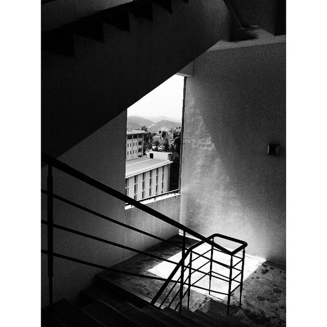 This is the view that I see every Monday while waiting for class. 2014 Palam Puncakalam Blackandwhite
