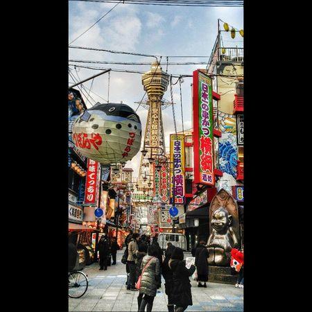 大阪 新世界 通天閣 OSAKA Tower Traveling