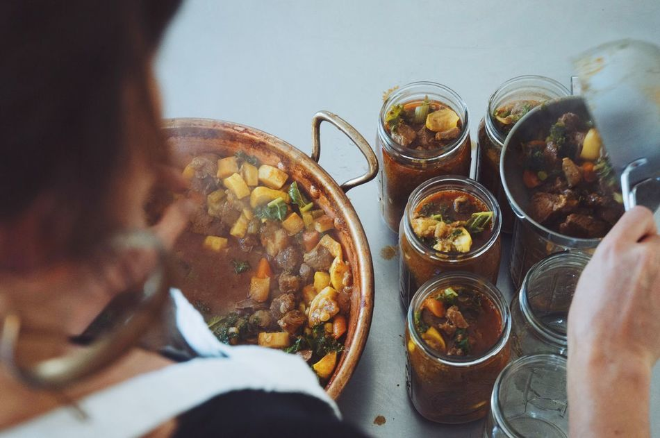Beautiful stock photos of glas,  Canned Food,  Cooked Food,  Copy Space,  Dinner