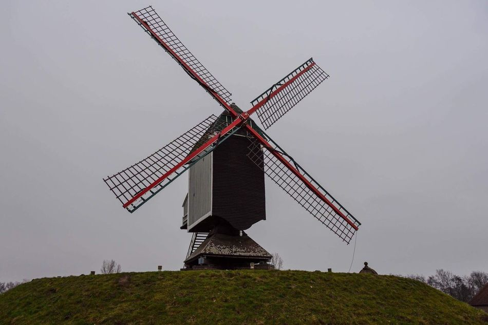 Architecture Built Structure Windmill Wind Power Outdoors Day Rainy Days Rainy Days☔ Winter EyeEmNewHere EyeEmNewHere