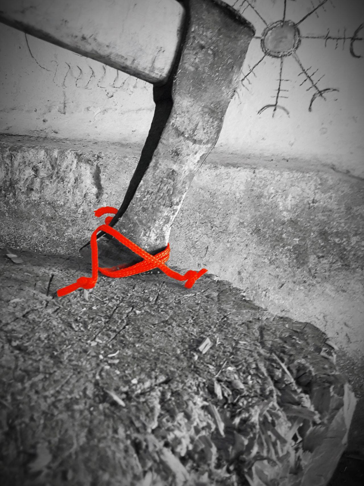 Ax Viking Aegishjalmur Rope Blood Pagans Valhalla Ragnarok