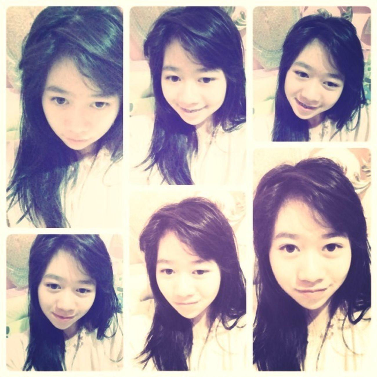 Messy Hair Dont Care NightyNight Goodnight Everyone <3 Enjoying Life