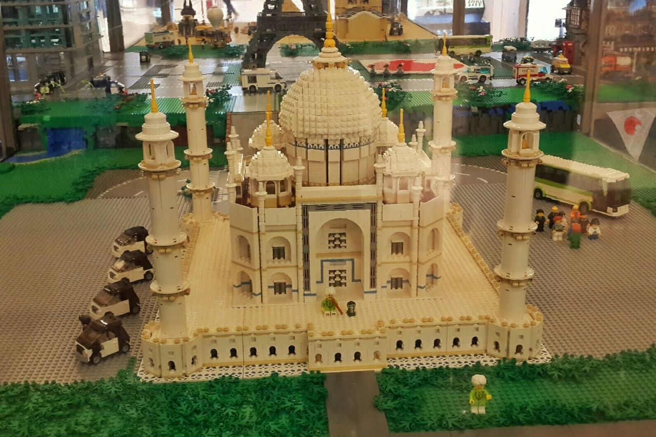 Play Architecture LEGO Play Mosque Building Shopping Mall Jakarta Collection
