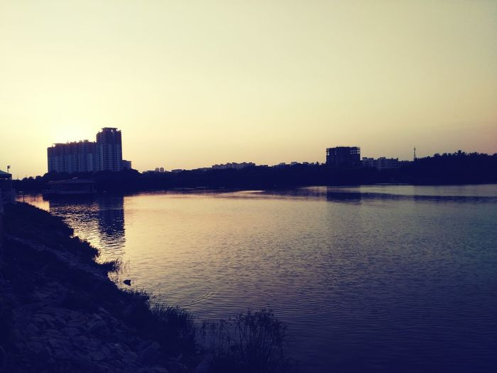 Landscape Lake Beauty Sunset Birds Sky Nature Love @lumbini
