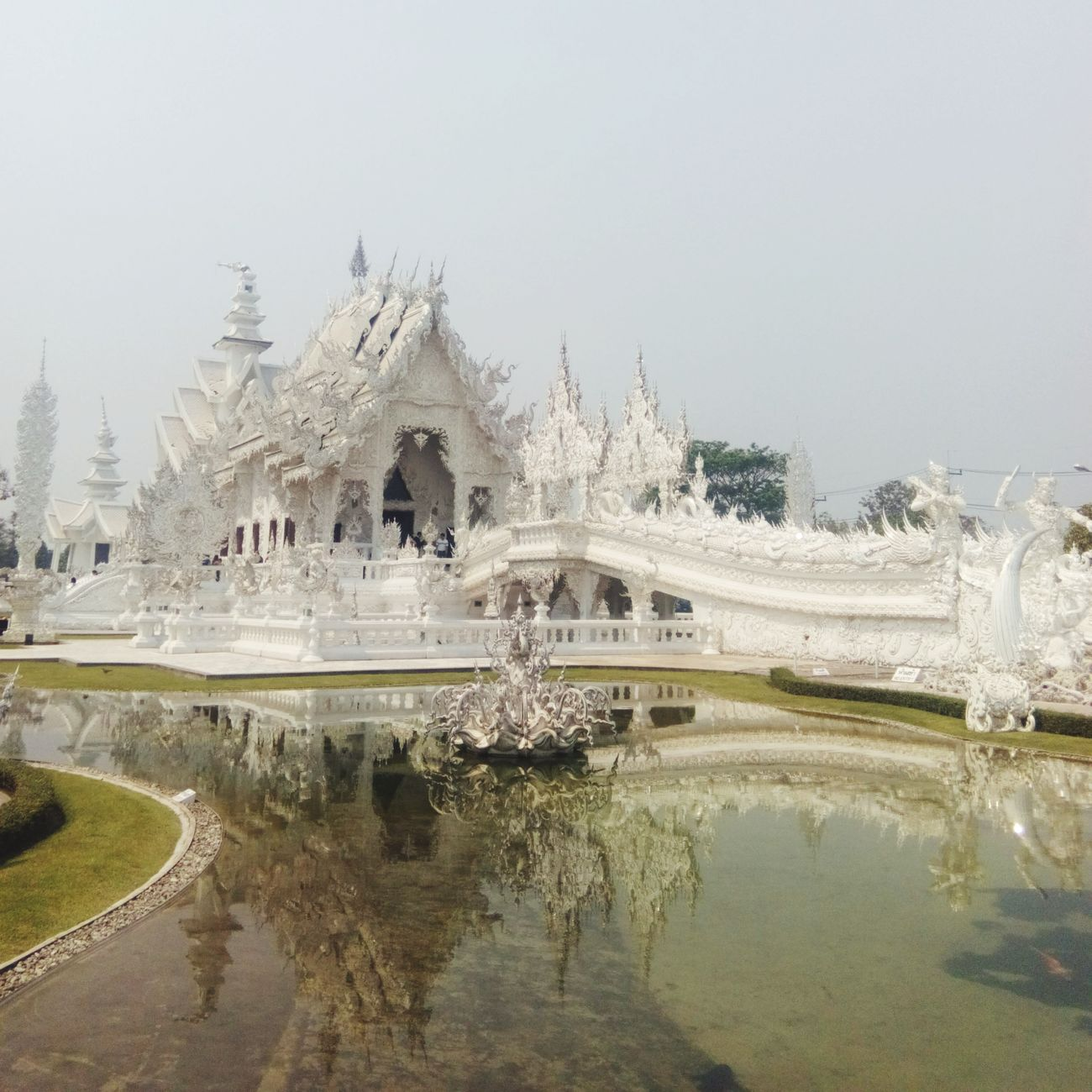 Watrongkhun Temple Chiangrai Chiang Rai Thailand EyeEm Thailand Photooftheday
