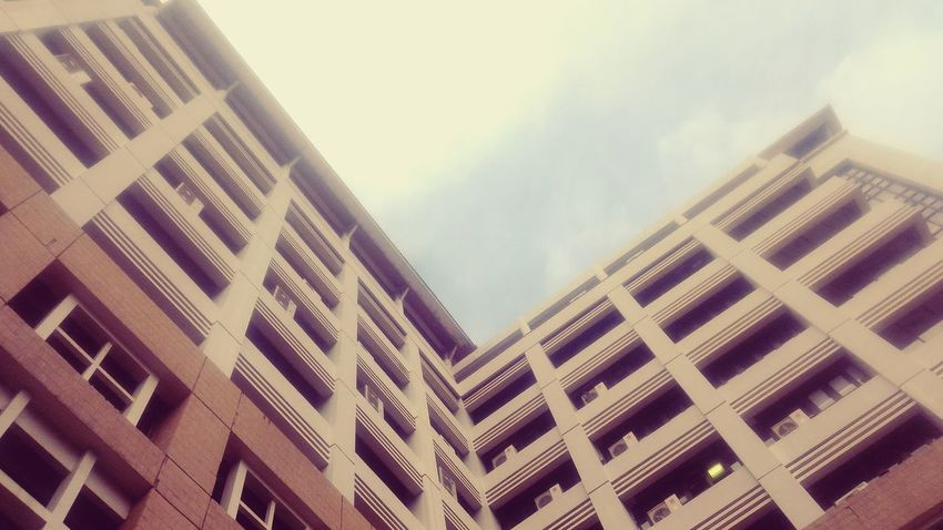 Building Exterior Built Structure Architecture Outdoors Sky No People Day Low Angle View Pattern Skyscraper