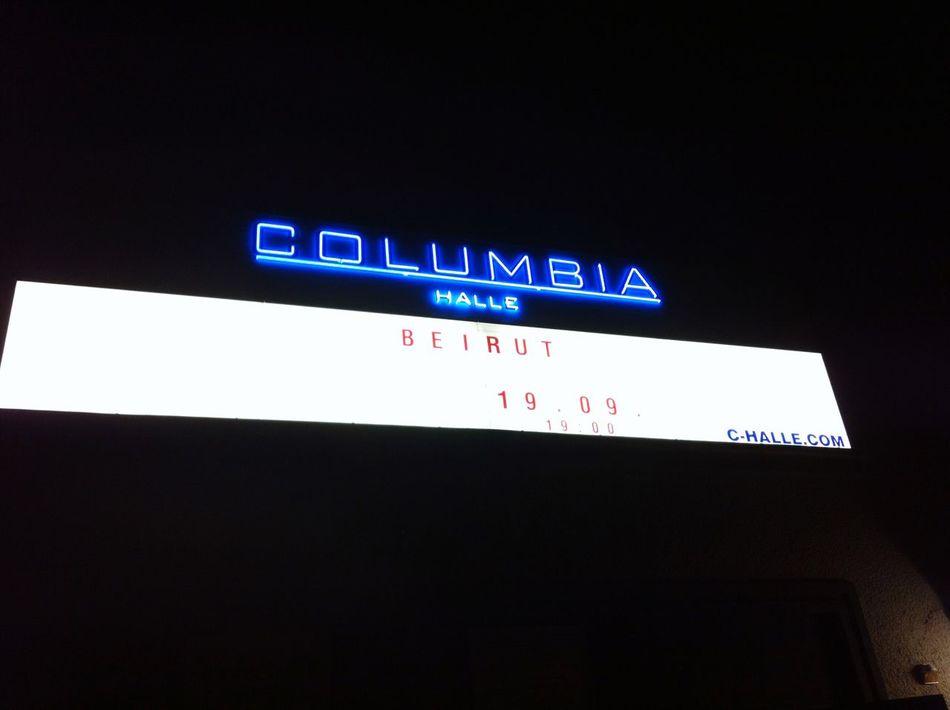 Berlin Columbiahalle Concert Beirut MusicLove
