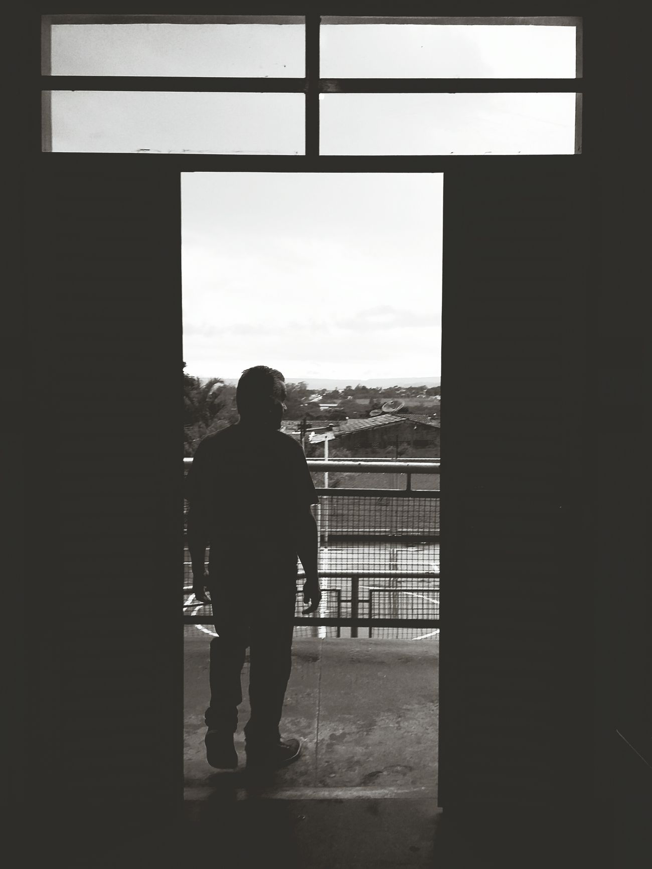 Silhouette Rear View Window Adult Men One Person Indoors  One Man Only Day People Adults Only Only Men Bws_worldwide Bwstyleoftheday Bw_collection BW_photography Bw_lover Bwphotography Bwbeauty Brasília - Brazil Brasiliangallery Brasilianphotographeinparis Brasilia Brasil DF Brasília Brasilian City