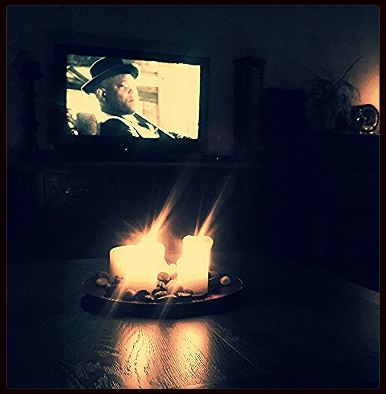 What Would Happen During A Sandstorm ? I Would Light Candles and relax on the sofa Watching A Movie