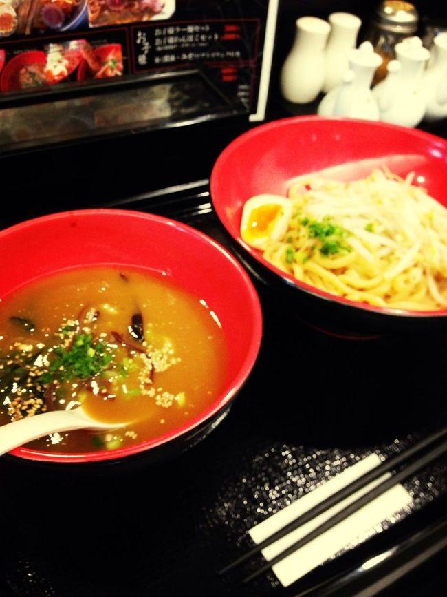 満たされました。濃厚鳥白湯魚介つけ麺。750円也 Ramen 太麺・・・じゃなくて中太でよかったかも Yamagata City Noodles