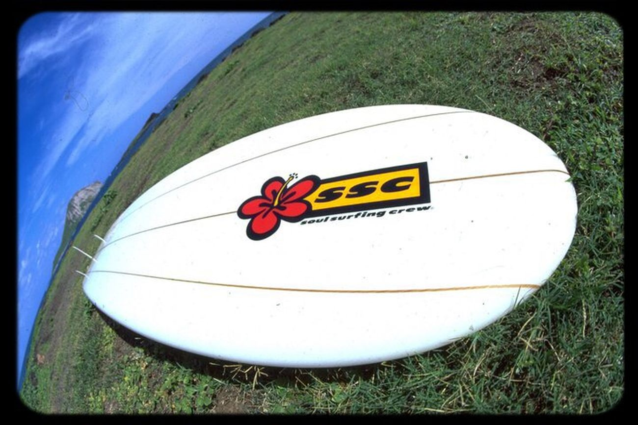 Rare sticker SSC Surfboards Rare Stickers